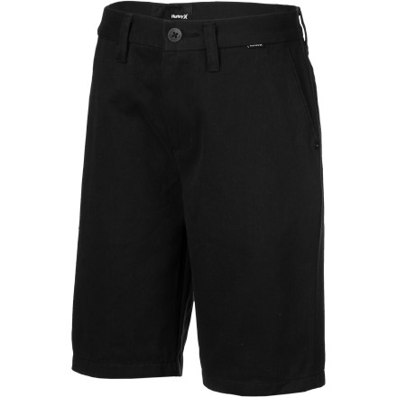 Surf The Hurley Boys' One & Only Short turns your little skater dude into a upstanding young man. These comfortable shorts feature a trouser fit and classic look. - $39.45