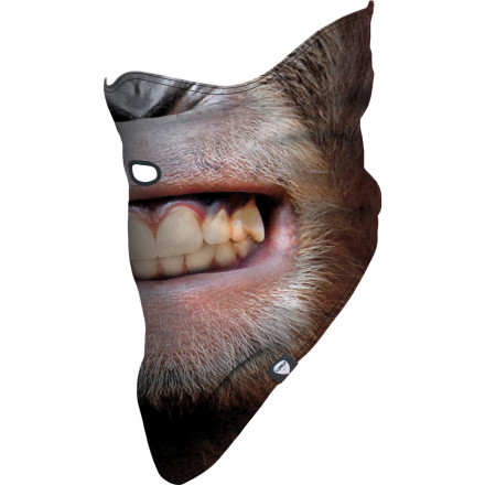 Wear the Airhole Animal Series Mask to get in touch with your primal side on the hill. Of course, you still get Airhole's patented, uh, airholeallowing you to drink, puff, or let out bloodcurdling mating calls with ease. - $14.98