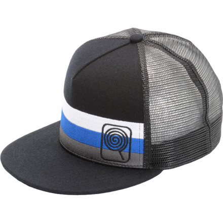 CandyGrind Stripe Trucker Hat - $24.95