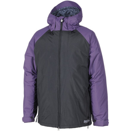 Surf The Volcom Industrial Jacket is built to last. It's also built to make you last longer on the slopes with light insulation that takes the edge off freezing January riding. - $76.48