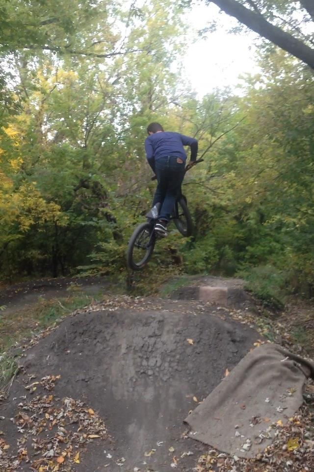 BMX Dirt Jumps!
