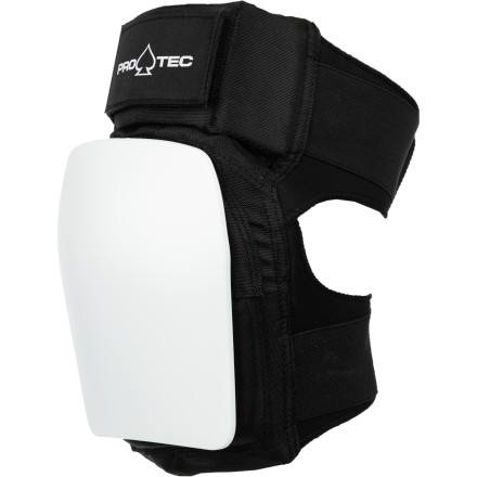 Skateboard Start protecting your knees now with the Pro-Tec Park Knee Pads. Tough plastic caps backed with EVA padding absorb impact so you can still be skating when you're 40or tomorrow, for that matter. - $45.95