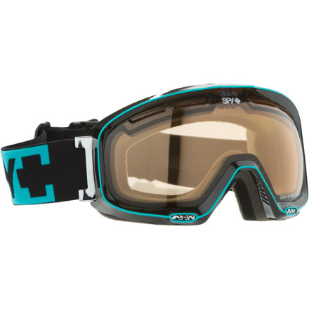 Ski Spy designed the Bias to give folks with smaller faces a high-performance, better-fitting goggle. This is the smaller version of the revolutionary Spy Soldier goggle. The flexible frame provides a snug fit to keep air out and prevent eye-watering. The anti-fog, anti-scratch dual lenses feature a spherical shape to reduce distortion, and the patented Scoop System eliminates fogging. Spy also gave the Bias triple-layer face foam for all-day comfort. - $59.97