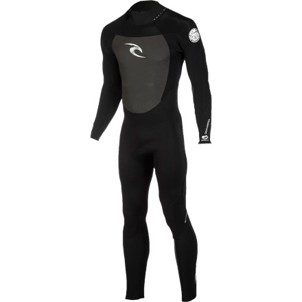 Surf The Rip Curl Dawn Patrol BZ Men's 3/2 Wetsuit Save helps you some money for summer surf trips without skimping on performance. Super-stretchy E3 neoprene provides lightweight warmth, and the seamless shoulders and underarms allow for freedom of movement when you're paddling. A back zipper makes the suit easy to get in and out of, and it features the Batwing system to prevent flushing when you duck under a wave on your way out to the break. - $139.95