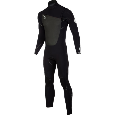Surf From cool spring surf to late-autumn sessions, stay comfortable and warm in the Rip Curl Men's F-Bomb CZ 3/2 Wetsuit. The E3 neoprene has an extremely high warmth-to-weight ratio, making it better-suited to a wider range of water temperatures than other neoprene of the same thickness. E3's super-stretchy feel maximizes freedom of movement, while seamless shoulders and underarms further improve flexibility for effortless paddling. When you need to take a break between sets, the Flash lining helps the suit hang-dry in a hurry so it's not sopping wet when you head out for round two. - $389.95
