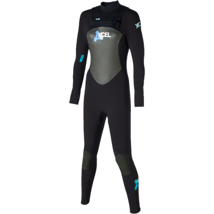Surf Conquer bitterly cold waters thanks to XCEL Hawaii's thick, flexible, and toasty-warm Infiniti 4/3 X-Zip Full-Suit. A unique zip entry, supreme seam sealing, and highly durable construction give you everything you need for late-season shredding for years to come. - $127.98