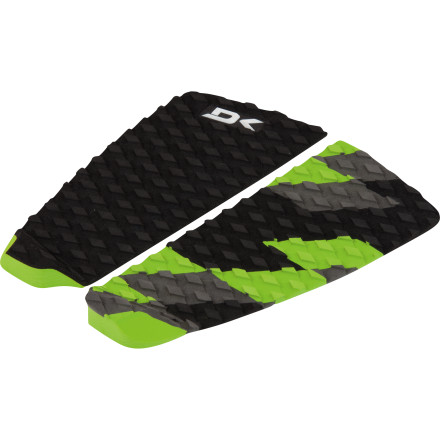 Surf If you want extra traction but prefer a more minimal feel, the Dakine Breaker Traction Pad's two-piece, archless design lets you use your feet au naturale, while still giving you the increased leverage of a 20mm tail kick. - $36.95