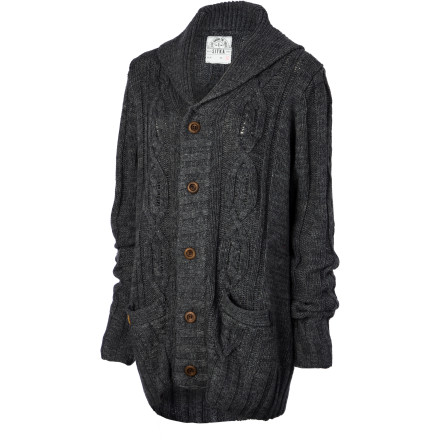 The Sitka Women's Cabot Sweater shells out a vintage feel that upgrades your look. Layer this button-up cardigan over a blousey top or a V-neck to add texture and a bit of old-school cool. It's like stealing the best sweater from your grandpa's closet but without that old-man smell. - $99.95