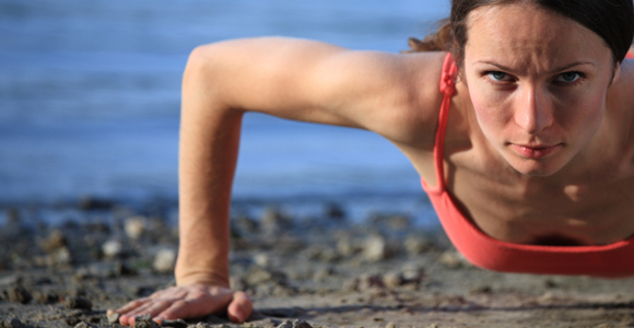 Fitness 5 Exercises to Get Your Arms Ready for Beach Season.  Article by Ryan Barnhart, MS, PES
