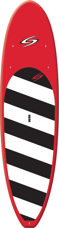 "Kayak and Canoe Surftech Balboa SUP Paddleboard Red/Black/White 10' 6"" - $891.95"