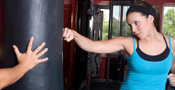 Fitness Be Your Inner Rocky: Box Away the Calories.  Article by Rachel Betsch