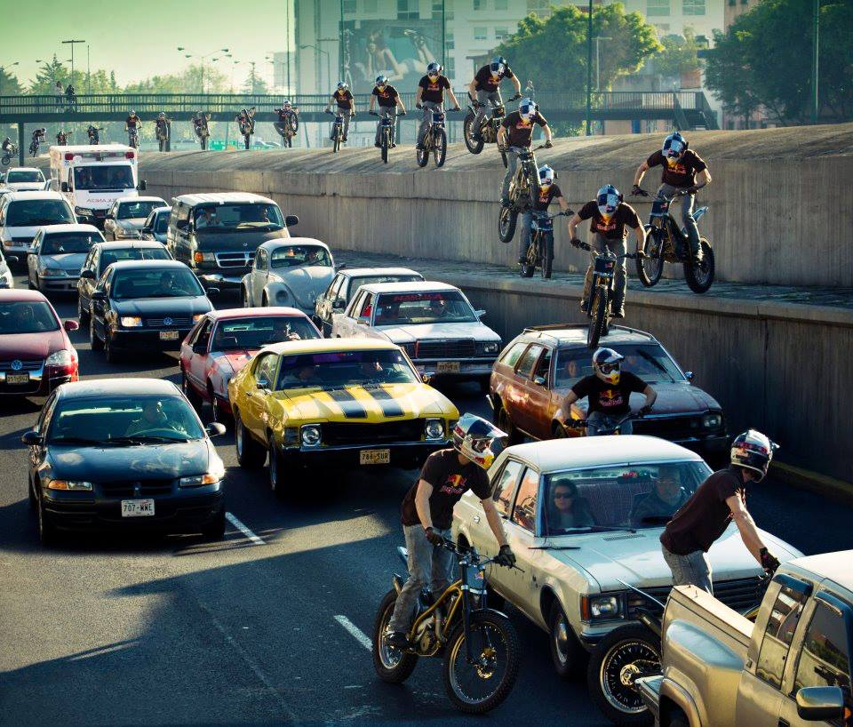 Motorsports Biking to work never felt so good.  via Redbull
