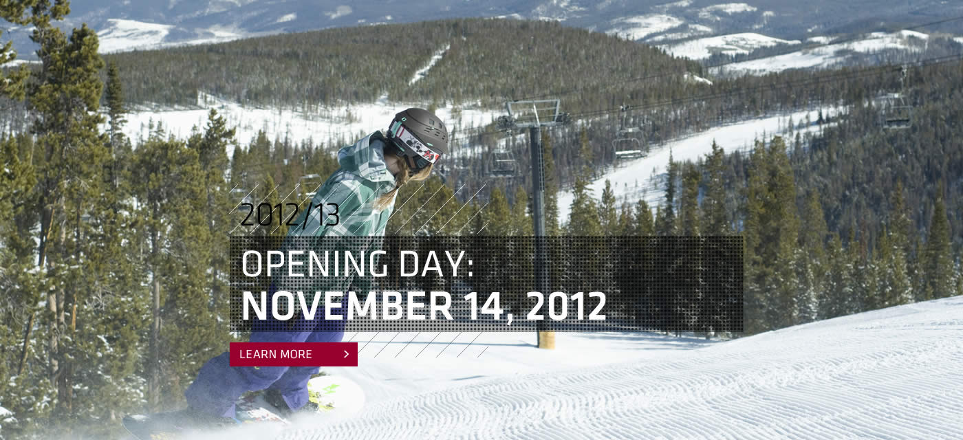 Snowboard Winter Park Resort opens November 14 for Winter 2012/13!  Get your season pass @winterparkresort.com
