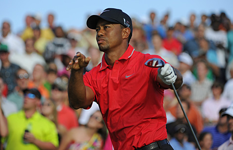 "Golf The Grind: Tiger tames TPC Sawgrass, Island fever spreads & ""Nelsoning""?  Article by Alex Myers on May 14, 2013"