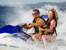 Wake Barefoot Billy's Jet Ski Tour Around Key West - it's a blast!   Visit barefootbillys.com