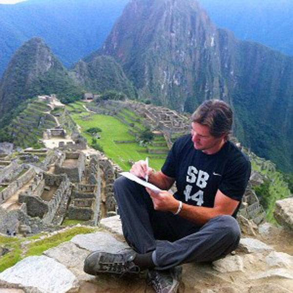 Camp and Hike NFL player retires after hiking Machu Picchu - 