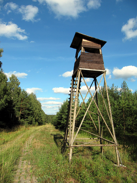 Hunting stand from germany