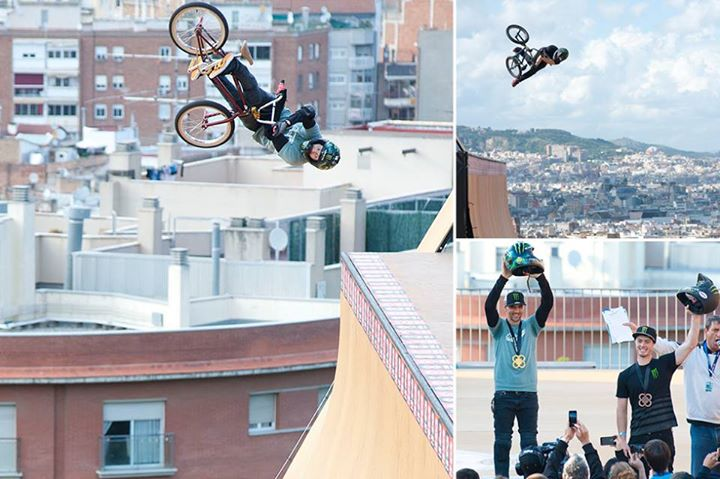 BMX The domination begins this weekend with Jamie Bestwick taking his 8th GOLD medal in BMX Vert w/teammate Vince Byron taking BRONZE at X Games Barcelona!