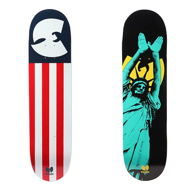 Skateboard Wu-Tang decks? Definitely have no problem with that at all.