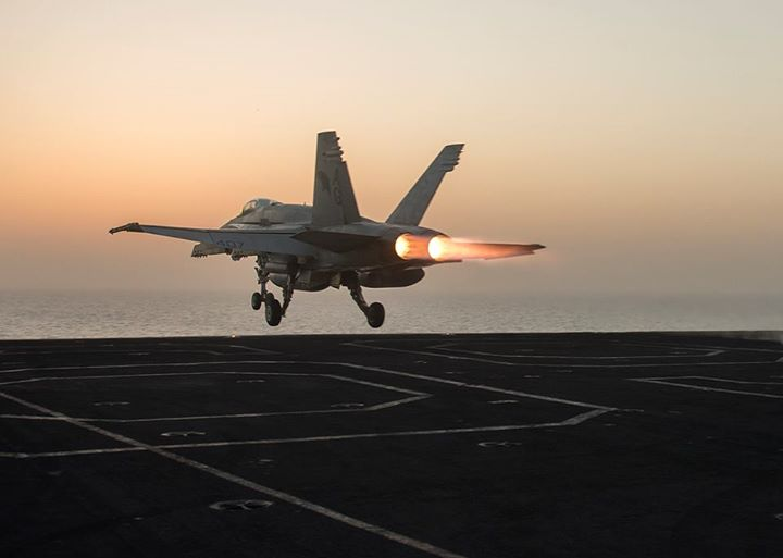 "Guns and Military Take off with us from USS Dwight D. Eisenhower (CVN 69) and check out how we're defending freedom in ""Your Navy Today"": http://ow.ly/l89XE"