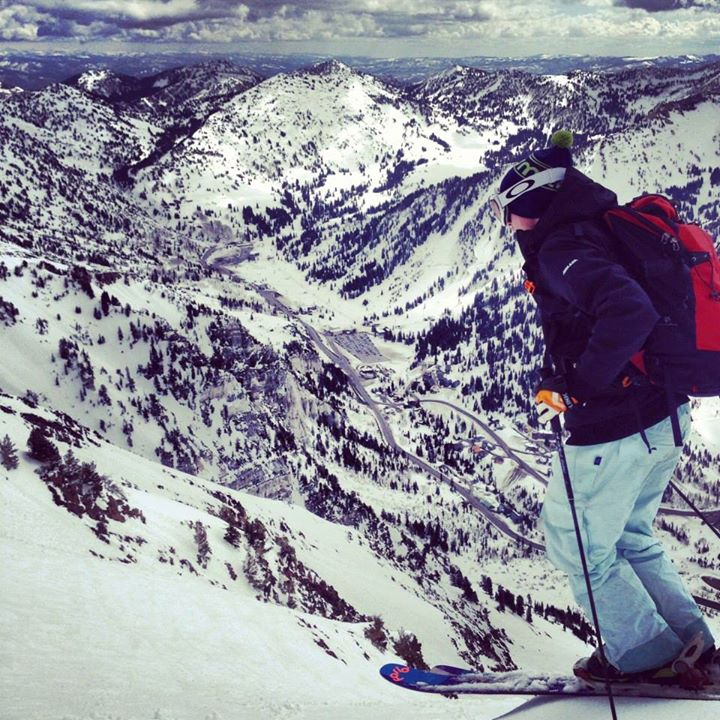Ski Shout out to Jessie Balicki for submitting our featured Shot of the Week, taken at Mount Superior in Little Cottonwood Canyon!