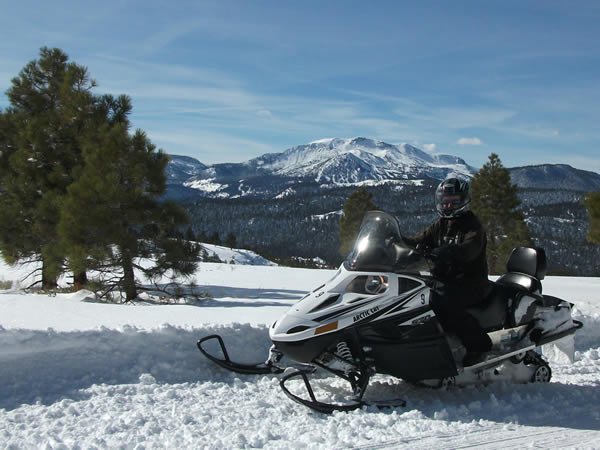 Snowmobile Snowmobile Mammoth Lakes, Mono County, CA with DJ's Snowmobile Adventures.  See them @ snowmobilemammoth.com
