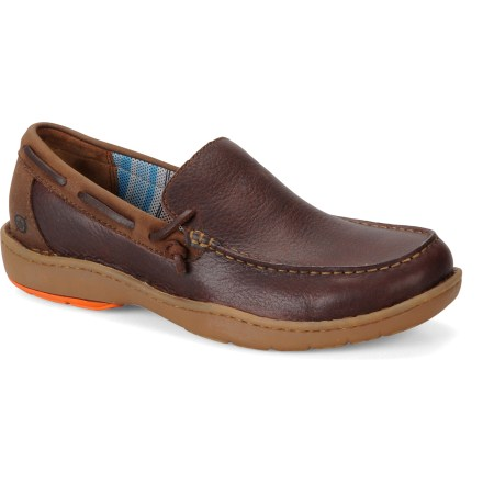 Ready for full days of fun on land or at sea, the boat-shoe inspired Born Crest shoes provide comfort and are built to last with quality construction and waterproof materials. - $44.73