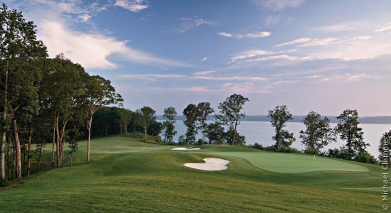Golf The Robert Trent Jones Golf Trail at The Shoals is home to two 18-hole championship courses.  Check them out @ rtjgolf.com