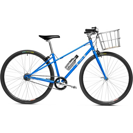 MTB Buy a MiiR High 5 Mixte bike and you'll get more than a comfortable, reliable everyday riding bike with a touch of mid-century Dutch bike style; you'll also help MiiR give a bike to someone in need. - $849.00