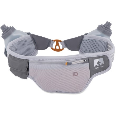 Camp and Hike Stay hydrated on long-distance runs with the Nathan Speed 2R Auto-Cant hydration waistpack. It carries the load of water and other essentials around your hips so you can run with hands-free comfort. - $15.73