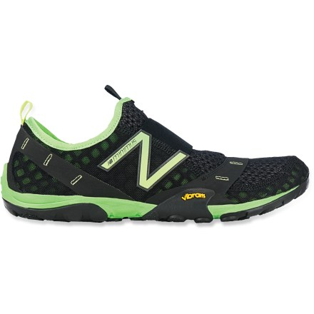 Fitness The MT10 Minimus Slip-On Trail-Running shoes are the flagship model of the New Balance Minimus collection. Built for changing weather conditions, the sticky rubber outsoles ensure traction. - $52.83