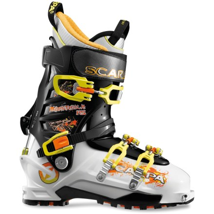 Ski The downhill-oriented Scarpa Maestrale RS randonee boots are designed for hard-charging backcountry skiers. They are 20% stiffer and only a touch heavier than the original Maestrale boots. - $278.93