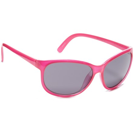 Camp and Hike Retro appeal and guaranteed sun protection make the SunCloud Cateye polarized sunglasses a great choice for young girls who appreciate style. And you'll appreciate the performance and protection. - $23.93