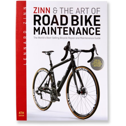 MTB From basic repairs to advanced bike care, Zinn and the Art of Road Bike Maintenance offers detailed, step-by-step instructions for all road and cyclocross bikes. - $24.95