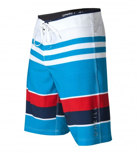 "Surf O'Neill Orion Boardshorts.  Epicstretch; 21"" outseam boardshort features superfly closure; locking drawcord; welt zipper pocket; contrast waistband binding and screened logos. - $27.99"