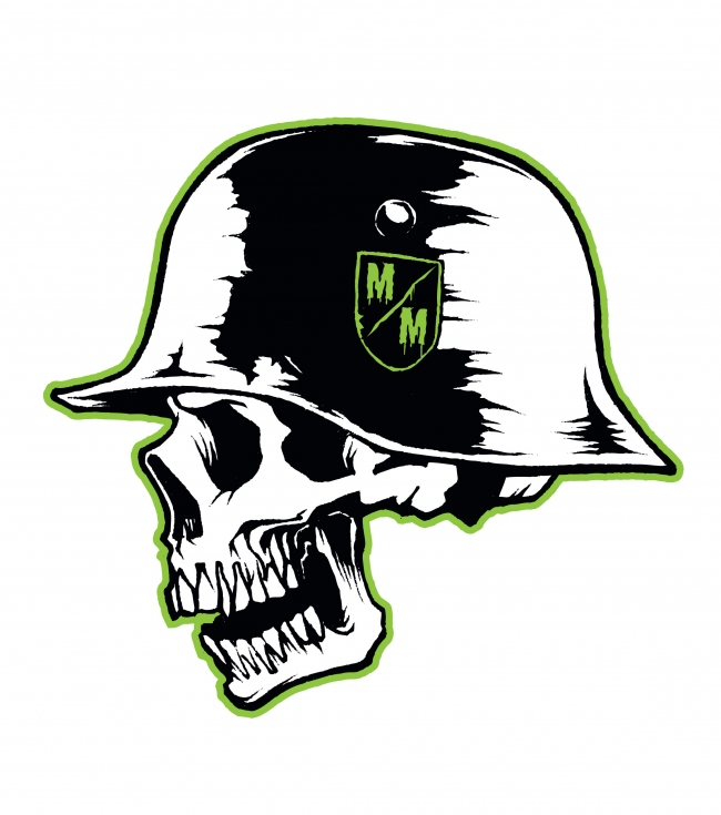 Motorsports Metal Mulisha Printed 12'' Sticker. - $1.99