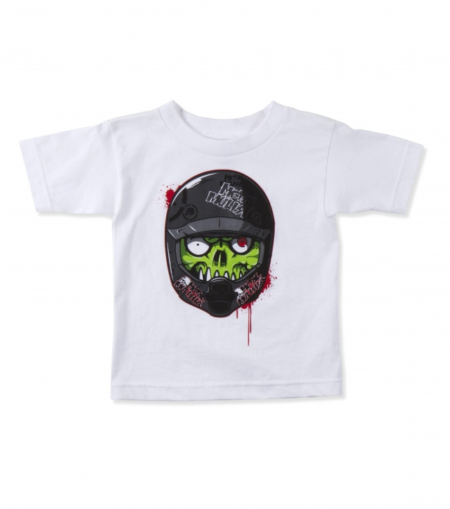 Motorsports Metal Mulisha Toddlers tee.  100% Cotton.  Front screenprint.. - $15.00