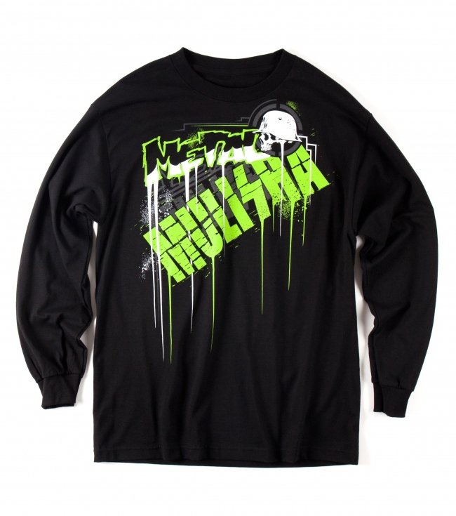 Motorsports Metal Mulisha Mens long sleeve Tee.  100% Cotton.  Screenprint. - $22.99