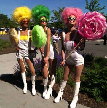 Entertainment The dancers at Electric Daisy Carnival New York killed it yesterday on Day 1