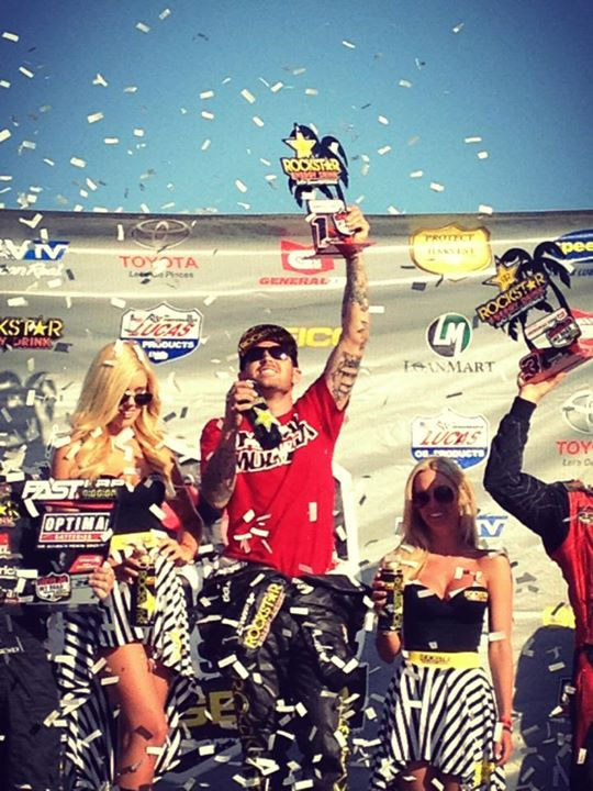 Motorsports Metal Mulisha 's Todd Leduc wrapped up today's Lucas Oil OffRoad Racing Series taking 1st place in PRO 2! Congrats Todd for going out there and laying it down!