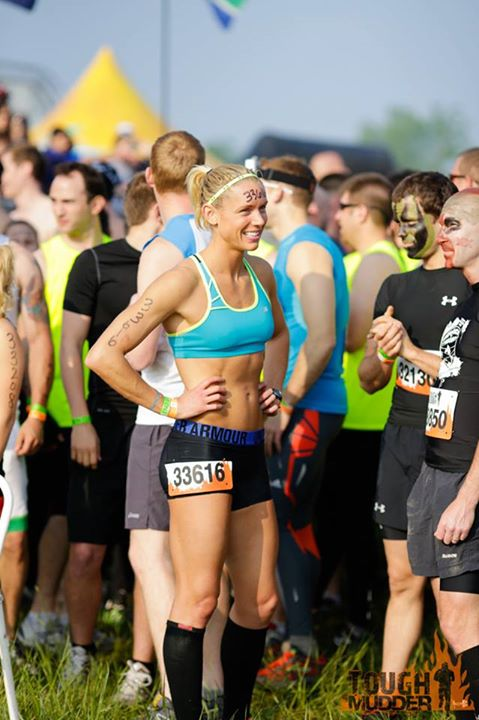 Fitness Amelia Boone, World's Toughest Mudder Champion.  Photos by Weston Walker