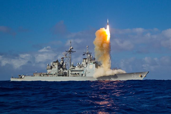 Guns and Military Watch as USS Lake Erie (CG 70) successfully intercepts a ballistic missile target during a test of the Aegis BMD Weapon System: http://ow.ly/l7hy0  You've got to see and share this!