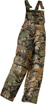 Made of polyester/cotton with heavy-duty hardware, and two front and two rear pockets. Machine washable. Imported. Sizes: XS-XL.Camo patterns: Mossy Oak Break-Up Infinity , Seclusion 3D , Mossy Oak New Break-Up . - $39.99