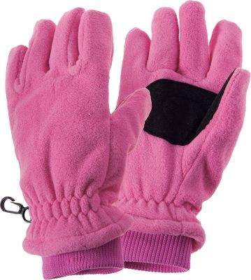 Lightweight kid-sized gloves are crafted of high-density, single-ply polyester fleece that blocks wind and insulates from the cold. Breathable to let warmth-robbing perspiration escape. Comfortable, form-fitting design. Machine washable. Imported.Sizes: S/M, L/XL.Colors: Pink, Black. - $7.49