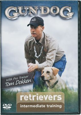 Entertainment Professional trainer and breeder Tom Dokken supplements his teachings with the Intermediate Retriever Training DVD. Advanced work, including force-fetching, marking and casting are focused on step by step to make your dog ready for hunting season. Force-fetch is illustrated in detail, moving from training table to the ground, and ultimately to water and field. Included is training for controlled behavior in the blind, in boats and around decoys. Hosted by Gun Dog Magazine editor Rick Van Etten. 90 minutes. - $24.99