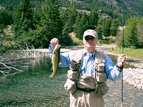 Flyfishing Fish from uncrowded private Boulder River frontage 24 miles north of Yellowstone NP. Learn more at:  hawleymountain.com