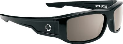 Featuring sleek, Grilamid frames, The Spy Optic Colt Polarized Sunglasses are rugged enough for your active lifestyle. Polarized polycarbonate lenses deliver 100% UV protection and reduce 99.9% of blinding glare. Durable metal hinges and details. Carry pouch included. Frame Material: Grilamid. Type: Polarized. Type: Polarized. Frame Color: Black. Lens Material: Polycarbonate. Lens Color: Bronze. Lens Color Happy Bronze Plrzd. Style Black Frame. - $149.99