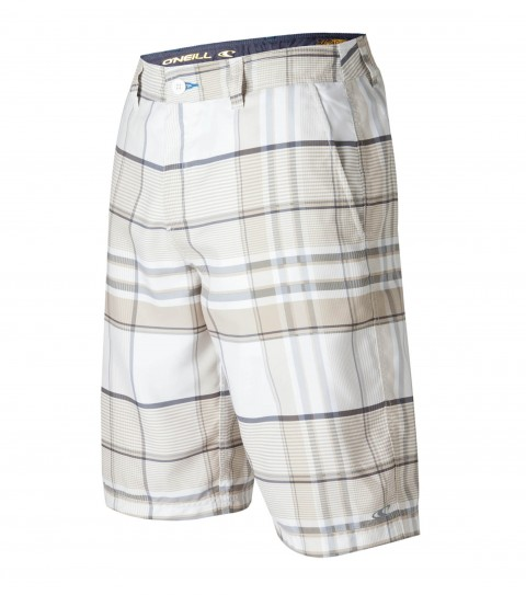 "Surf O'Neill Norton Hybrid Shorts.  Ultrasuede.  22"" outseam boardshort features zipper fly; internal waistband drawcord; front and back pockets; embroidered and screened logos. - $32.99"
