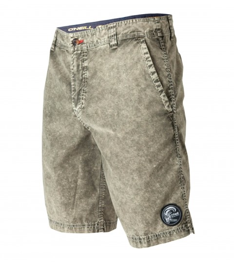 "Surf O'Neill Stir Fry Hybrid Shorts.  Cotton stretch.  20"" outseam boardshort features heavy garment wash; sideseam binding; zipperfly; internal waistband drawcord; front pockets; back pockets; embroidered and screened logos. - $33.99"