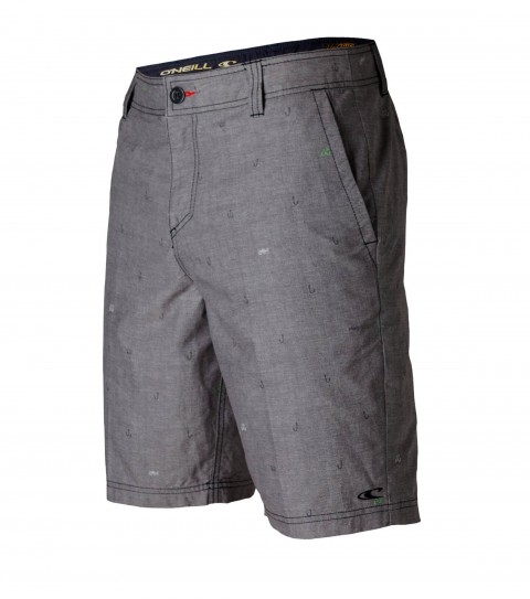 "Surf O'Neill Ignacio Hybrid Shorts.  Vintage Suede.  20"" outseam boardshort features zipper fly; internal waistband drawcord; front and back pockets; embroidered and screened logos. - $24.99"